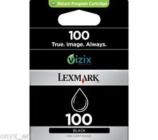 Genuine Lexmark 100 Black Ink Cartridge for Pro905 Pro904 Pro903 Pro901