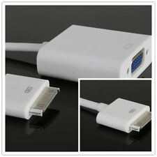 30-PIN DOCK CONNECTOR TO VGA ADAPTER FOR APPLE IPAD / IPHONE / IPOD BOS UK