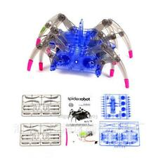 Puzzle Electric spider robot Toy DIY educational Assembles Toys Kits For Kids