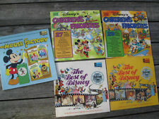 DISNEY (5) EARLY 1970s VINTAGE LP RECORD COLLECTION