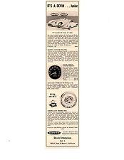 1959 DEVIN JUNIOR KIT CAR ~ ORIGINAL PRINT AD