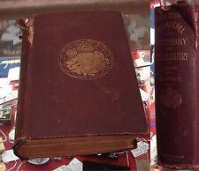 Rare 1868 FREEMASONRY Cyclopedia OCCULT Knights Templar MASONIC History