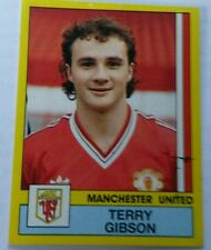 Panini football 87 #178 Terry Gibson Manchester United