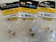 HUBBELL PREMISE WIRING AUDIO VIDEO CONNECTOR (QUANTITY 3)