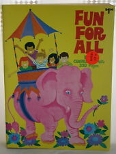 Vintage Unused Fun for All 320 pages Color Coloring Book by Playmore