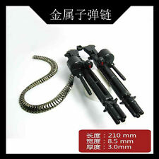 2x Metal gatling gun chain weapon parts for unicorn gouf b-3 MG PG Gundam Black
