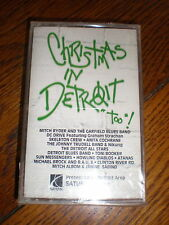 Christmas In Detroit Too CASSETTE various SEALED