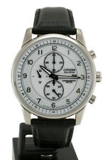 Citizen Eco-Drive Stainless Steel Chrono Men's Watch CA0331-05A
