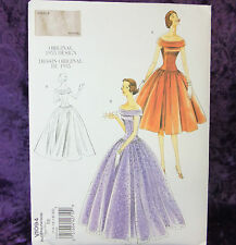 Vogue Vintage V1094 Misses' Dress 1955 Sewing Pattern Classic Style 14-20 New!