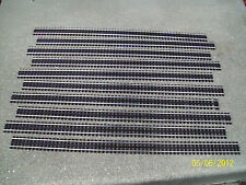 "New, Gar Graves, 3 Rail, O Gauge Track, Ten 37"" Sections for MTH and Lionel"