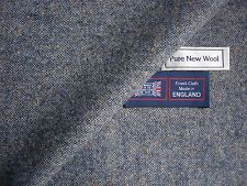 100% PURE NEW WOOL DONEGAL TWEED FABRIC – MADE IN HUDDERSFIELD ENGLAND - 2.2 m.