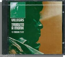 Enrique Villegas - Tributo A Monk (1967) - New 1990 Jazz CD! Piano, Bass, Drums