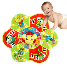 Newly Baby Musical Carpet Children Touch Kick Fun Toy Washable Multi-function