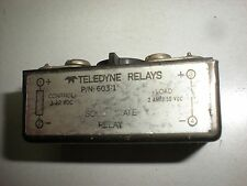 Teledyne 603-1 Solid State Relay - 3-32VDC Input - 2A 50VDC Load - Tests OK - #2