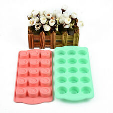 DIY Cake Mold Soap Pudding Ice Cube Silicone Mould Candy Chocolate Cake O