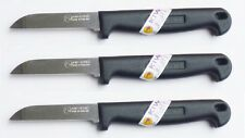 "3 x KIWI BRAND Stainless Steel ""TipTop Knife"" with plastic handle NEW No. 192"