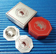2011 Singapore Mint's $2 Lunar Year of Rabbit 20 gm 999 Fine Silver Proof Coin