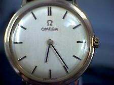 Gents 9ct Gold Omega Watch