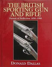 DALLAS DONALD SHOTGUNS BOOK BRITISH SPORTING GUN & RIFLE hardback BARGAIN new