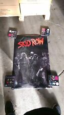 SKID ROW POSTER 1989 24 x 36 funky poster Co. Sebastian Bach 18 & life