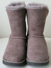 UGG AUSTRALIA SHORT GREY BOOTS UK 5.5 EURO 38 US 7