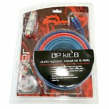 KIT 6 KIT CAVI ALIMENTAZIONE 8MM x AMPLIFICATORE E SUBWOOFER  DRAGSTER DP KIT.8