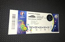 Sammler Used Ticket #23 Island Ungarn Iceland Hungary UEFA EURO
