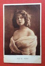 CPA. Artiste ÉLISE DE VERE. 1911. Reutlinger. Sépia. Mauvais État.