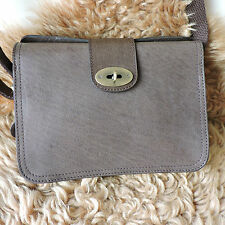 BOLLA BROWN REAL LEATHER SATCHEL CROSS-BODY HANDBAG DOCUMENTS CASE ORG WAS£79.95