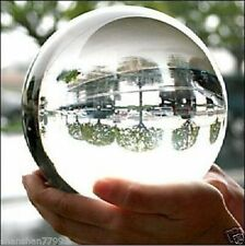 100mm+Stand Asian Rare Natural Quartz Clear Magic Crystal Healing Ball Sphere/*