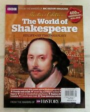 WORLD Of SHAKESPEARE His Life TIMES Plays COLLECTOR'S EDITION BBC History 400 Yr