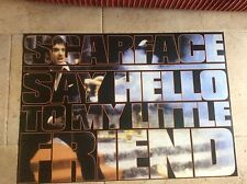 Vintage Rare SCARFACE Al Pacino Gangster 80s Film Movie Poster Memorabilia