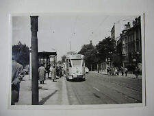 B254 - 1950s TRAMWAYS BRUXELLOIS - TRAM No7012 Route 39 PHOTO Belgium