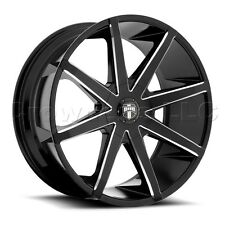 DUB  19 x 8.5 Push Car Wheel Rim 5x100 5x4.5 Part # S109198503+45