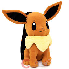 "Pokemon Eevee Plush Doll Backpack Soft Stuffed 14"" Costume Bag"