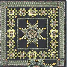 Radiant Feathered Star quilt pattern by Maggie Ball of Dragonfly Quilts