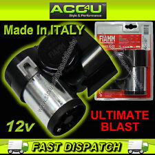 FIAMM Italy 12v Ultimate Blast Car Van Bike Loud 115dB Compact Traffic Air Horn