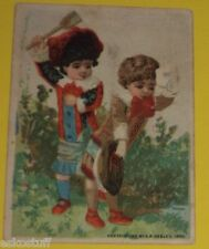 Atlantic & Pacific Tea Company - Child Spanking 1882 Color Ad Card Nice SEE!