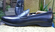 Prada Milano Sport  Black Leather Loafer  Size uk 8  us 9 -9.5