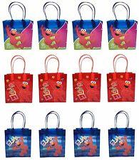 Sesame Street Elmo 24PCS GOODIE BAGS BIRTHDAY PARTY FAVOR BAGS GIFT Bags
