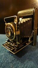Vintage 3x2 Krauss Rollette Roll Film Folding Camera, Rare, in VG to E Condition