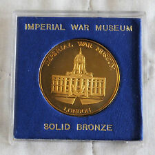 IMPERIAL WAR MUSEUM LONDON 38mm SOLID BRONZE PROOF MEDAL - cased