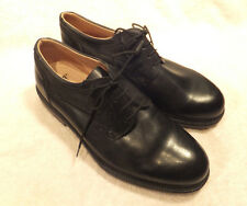 Hush Puppies  Black Leather Men's Casual / Dress / Comfort Shoes 11.5 M Ita