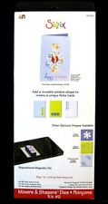 Sizzix Die Bigz XL, Kit #2 Card, Vertical Note, NEW for use w/BIGkick & Big Shot
