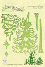 Lea'bilities Cutting & Embossing Die - Pine Trees - Christmas -