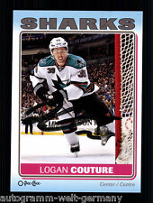 Logan Couture Sharks Sammel Card TOP Orig. Sign. Eishockey +A 58412