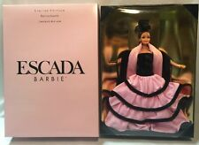 Limited Edition Escada Barbie 15948 New in Box. Never Opened.