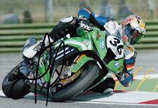 Leandro Mercado Hand Signed Kawasaki 7x5 Photo WSBK 1.