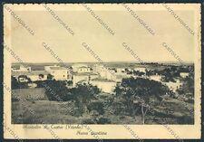 Viterbo Montalto di Castro PIEGHE FG cartolina D6561 SZA