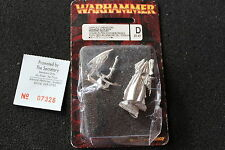 Games Workshop WARHAMMER DARK ELF DREADLORD Elfi Dread Lord NUOVO con scatola nuovo metallo fuori catalogo